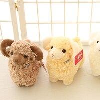 Leuke Geit Lam Soft Knuffels 3 Kleuren Gevulde Zachte Peluche Dier Schapen Speelgoed voor Baby Kids Gift
