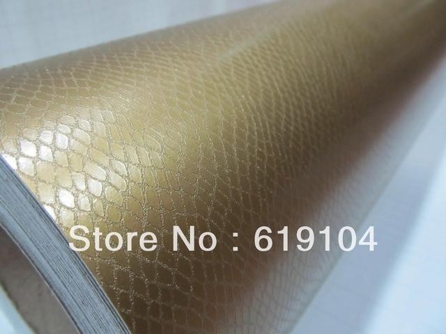 ROHS zertifikat 1,52X30 Mt freie luftblasen schlangenhaut pvc folie ...