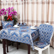 Multisize Luxury Jacquard Table Cloth High End Europe style Waterproof Oilproof Dining Pads Tea Covers