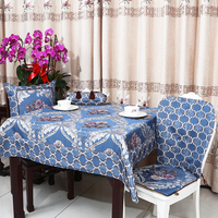 Multisize Luxury Jacquard Table Cloth High End Europe Style Waterproof Oilproof Dining Table Pads Tea Table