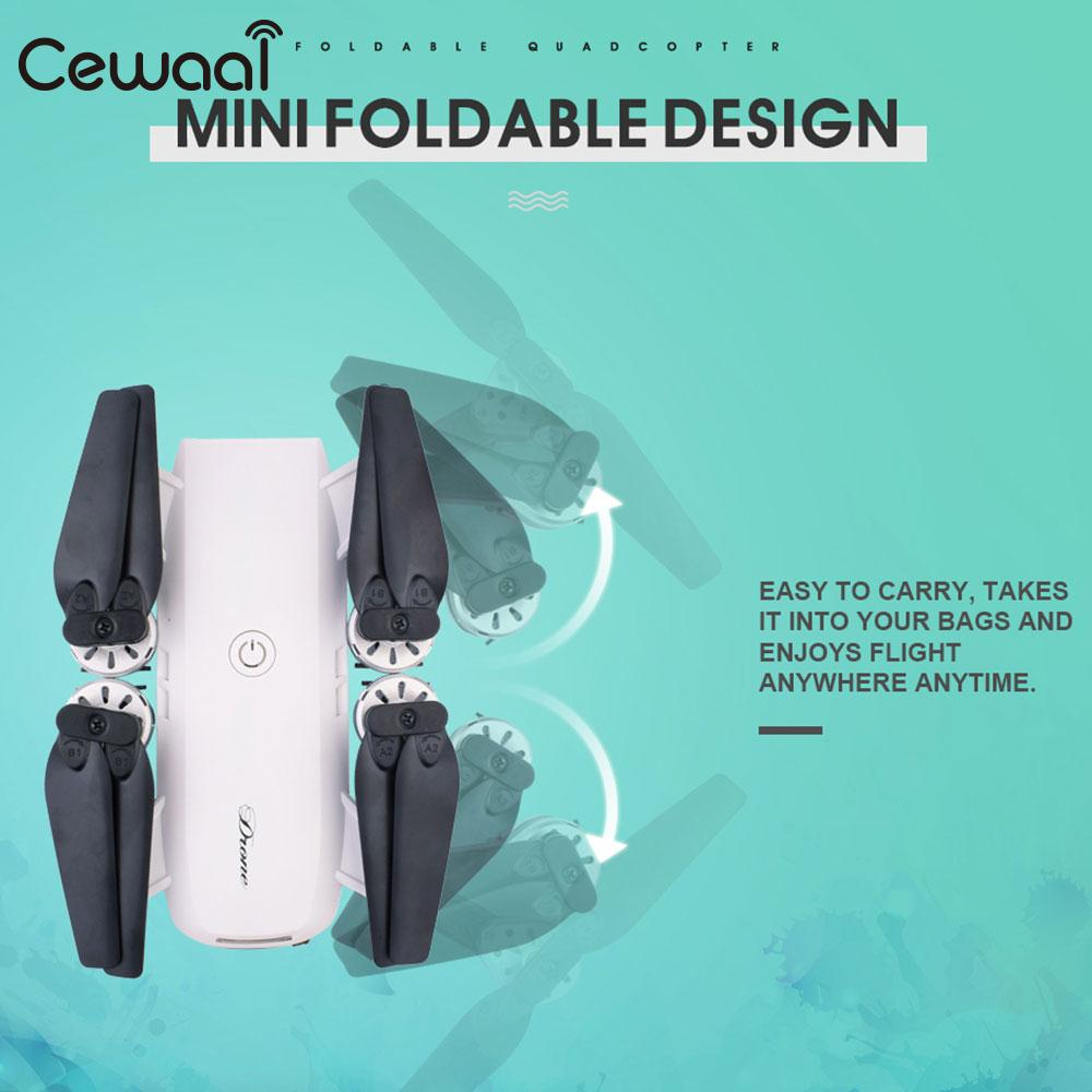 Folding 2.4GHz 4 Channel 6-Axis Gyro WiFi FPV HD 2.0MP Camera Altitude Hold Remote Quadcopter Helicopter Drone Kid Gift jjr c jjrc h43wh h43 selfie elfie wifi fpv with hd camera altitude hold headless mode foldable arm rc quadcopter drone h37 mini