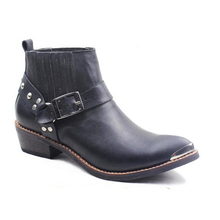 100% Cow Genuine Leather Boots