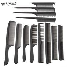 12 Style Anti-static Hairdressing Combs Detangle Straight Hair Brushes Girls Ponytail Comb Pro Salon Hair Care Styling Tool