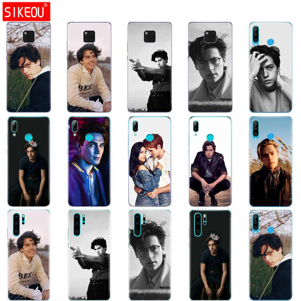 Case For Huawei P30 PRO LITE back case for huawei mate 20 pro lite p smart 2019 plus American TV Riverdale Cole Sprouse
