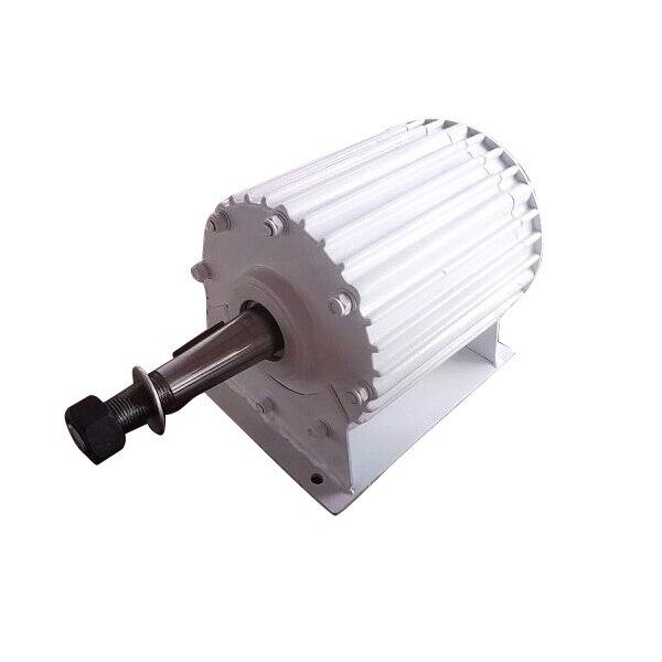 511989c8c93 1kw PMG generador de imán permanente pm generador ac PMA en Generadores de  Energía alternativa de Mejoras para el hogar en AliExpress.com