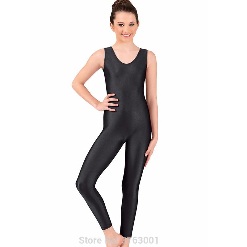 Womens Dance Catsuit Yoga Sport Fitness Unitard Jumpsuit Playsuit Leggings Pants