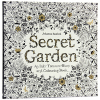 96 Pages English Secret Garden Coloring Books For Adults Kids Relieve Stress Kill Time Graffiti Painting
