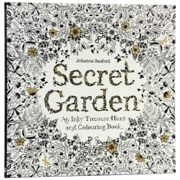 96 Pages English Secret Garden Coloring Books for Adults Kids ...
