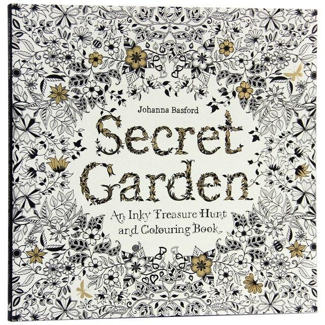 96 páginas inglés jardín secreto para colorear Libros para adultos ...