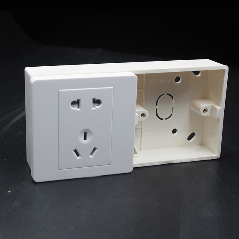surface mounted 86 type double socket bottom box 173mm 86mm switch rh aliexpress com