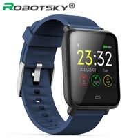 Q9 montre intelligente pression artérielle fréquence cardiaque moniteur de sommeil Bracelet IP67 étanche Sport Fitness Trakcer montre hommes femmes Smartwatch