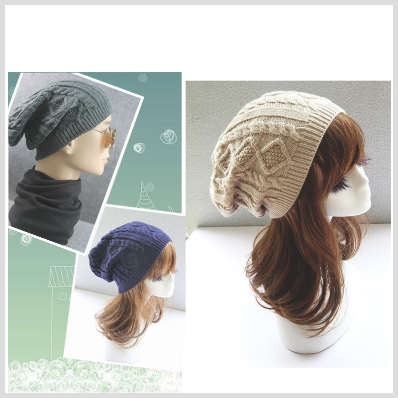 Beanies   Winter Hat For Women Men Knitted Caps Wool Hats Casual Unisex Solid Color High Quality Female   Skullies     Beanie   Warm Cap