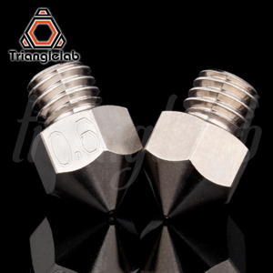 Image 2 - Trianglelab MK8 Plated Copper Nozzle Durable Non stick High Performance M6 Thread For 3D printers For CR10 Hotend ENDER3