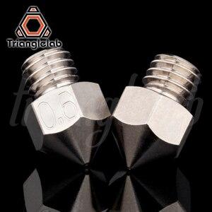 Image 2 - Trianglelab MK8 Überzogene Kupfer Düse Langlebig nicht stick hohe leistung M6 Gewinde für 3D drucker für CR10 hotend ENDER3