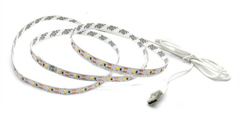 USB LED Strip 5050 3528 Կասետային DC5V - LED լուսավորություն - Լուսանկար 4