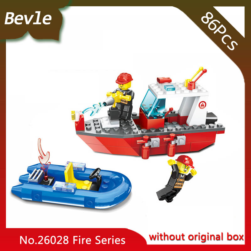 Bevle Store LEPIN 26029 86Pcs Fire Series Sea Rescue Model Building Kits Blocks set Bricks Children For Toys Wange Gift 2pcs car led headlight decoder fog light drl no error load resistor no flickering warning canceller 9005 9006 hb3 hb4