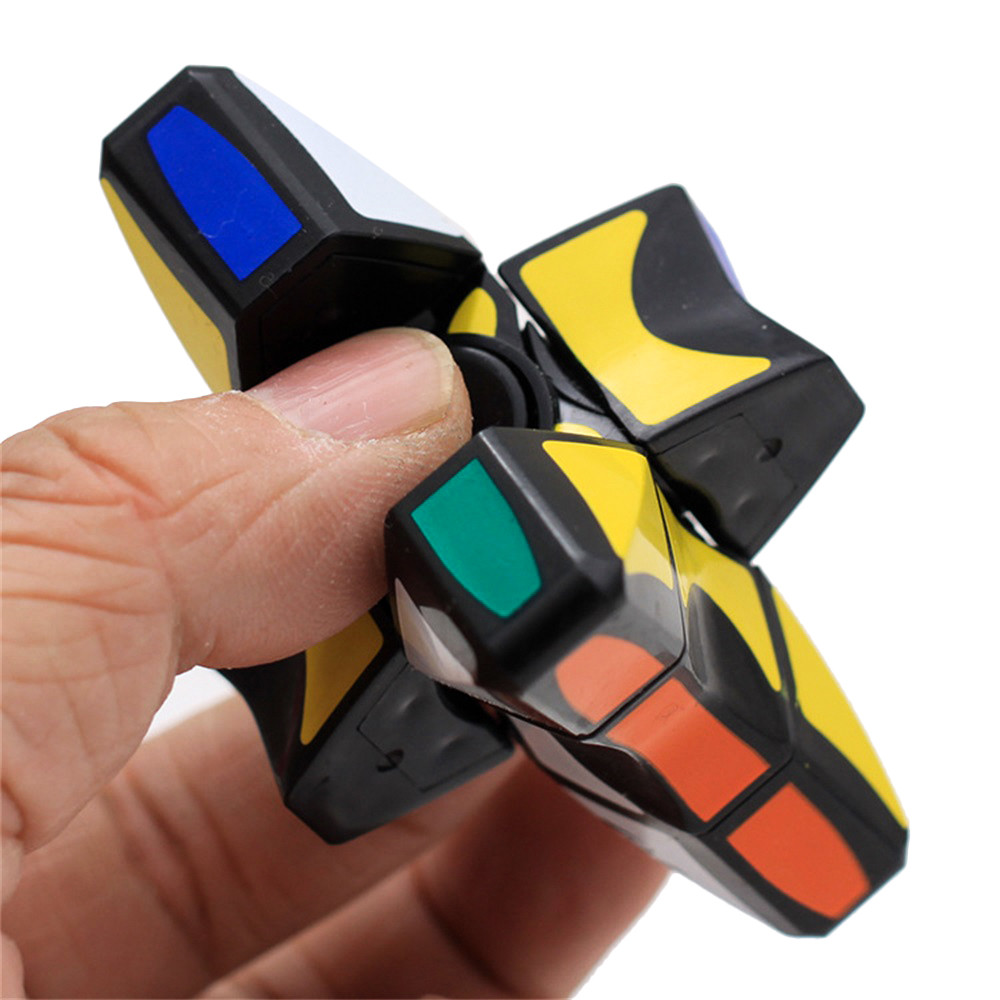 2018 New Arrival High Qualitity Smooth And Speed 1x3x3 Rubiks Cube Puzzle Spinner Focus  ...