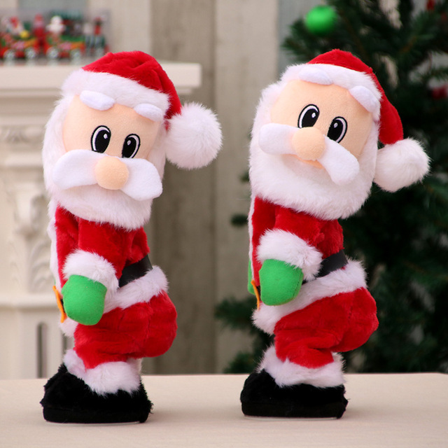 Buy 2017 new electric swing santa for Cute christmas decorations