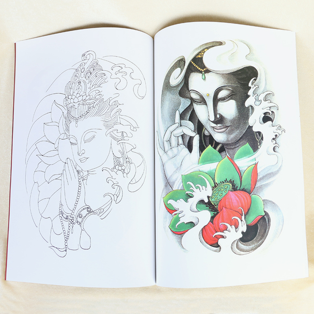 Chinese Traditional Mythical Tattoo Manuscripts Flash Tattoo Book ...