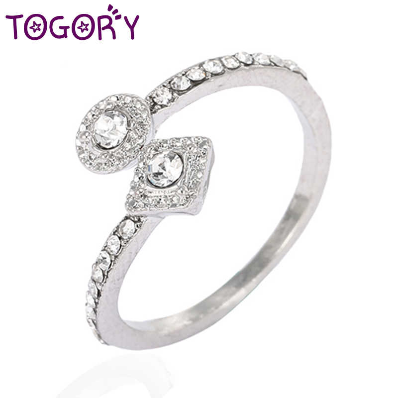 1cacdb27e76a9 Detail Feedback Questions about TOGORY Sample Silver Color Sparkling ...