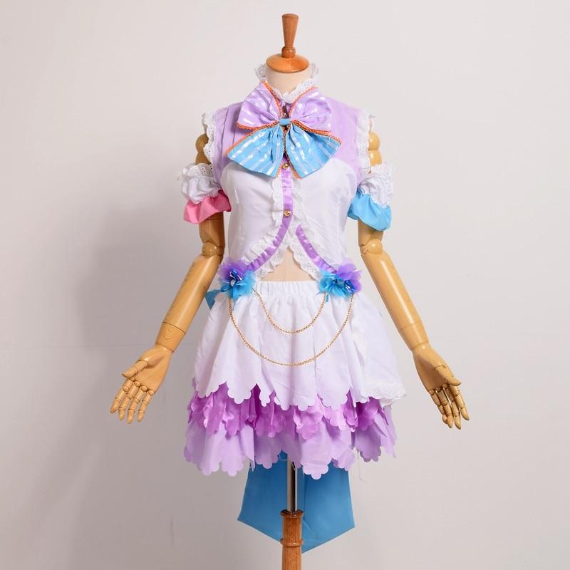 Nico Yazawa Cosplay White Dovetai Angel Wing Dress Anime Love Live Valentine Awaken Costumes