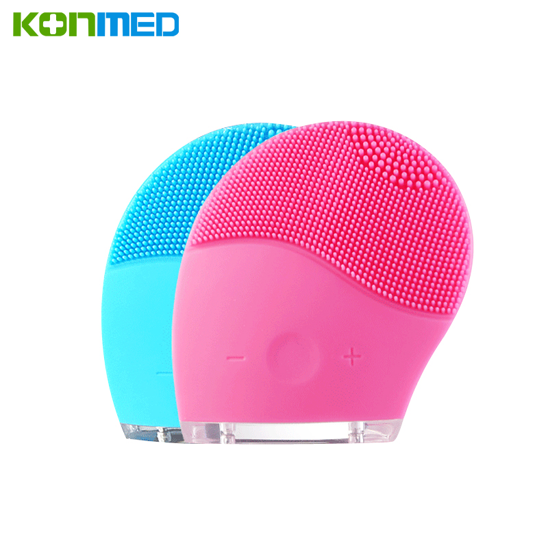 Komwell Health Beauty Face Wash Brushes Machine Soft Silicone Facial Brush Cleanser Waterproof Design Face Women Cleansers