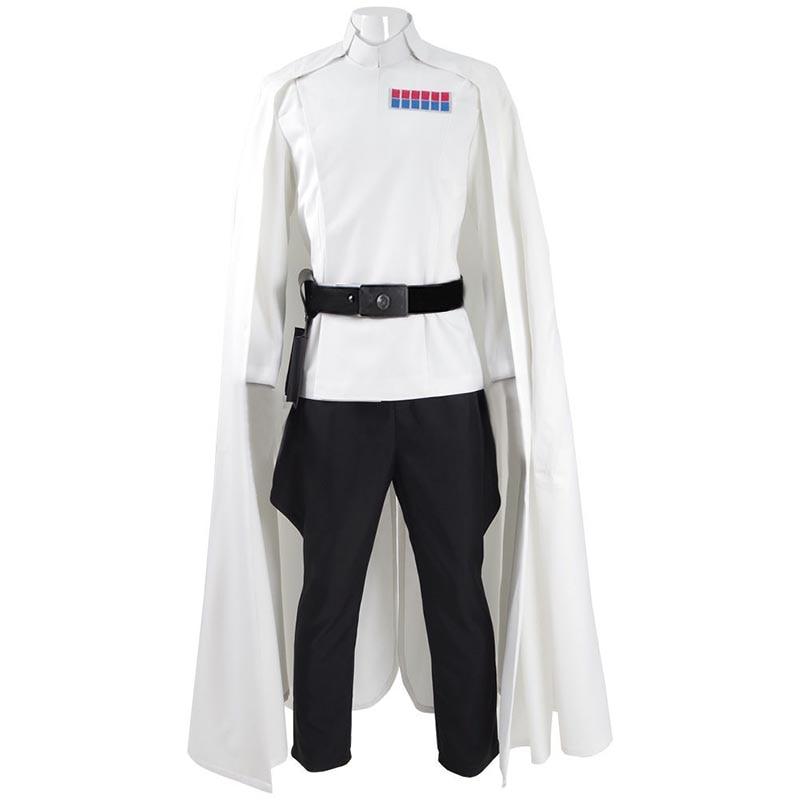 2019 Star Wars Rogue One Director Orson Krennic Cosplay Costume Halloween Officer Uniform