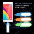 Mini usb android levou luz gadgets usb para samsung s6edge lg google luz de preenchimento para huawei p9 usb holofote quando tirar fotos