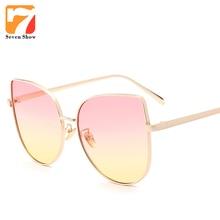 Steampunk Cat Eye Sunglasses Mujeres Diseñador de la Marca Transparente Mirror Shades Gafas de Sol Para Mujer Retro Vintage Eyewear Oculos gafas