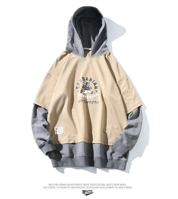 capuche vestes Harajuku mode 4