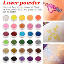 DIY glitter powder sand powder mobile phone shell decoration diy Laser glitter pink bright crystal crystal drop nail art jewelry(China)
