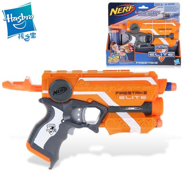 Licensed Nerf Gun Elite Firestrike Blaster With 3 Darts Bullet Pistol Kids  Toys For Children