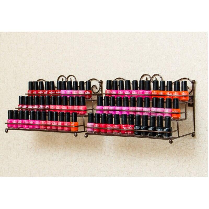 Esmalte de uñas Rack de escritorio Soporte de almacenamiento de 3 - Arte de uñas - foto 4