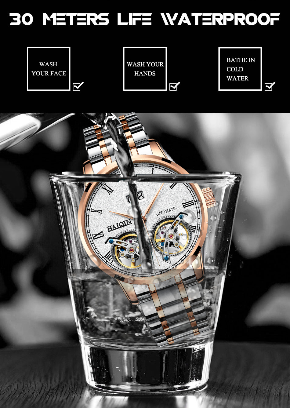 HTB1TjuZef1H3KVjSZFBq6zSMXXar HAIQIN Men's watches Mens Watches top brand luxury Automatic mechanical sport watch men wirstwatch Tourbillon Reloj hombres 2018