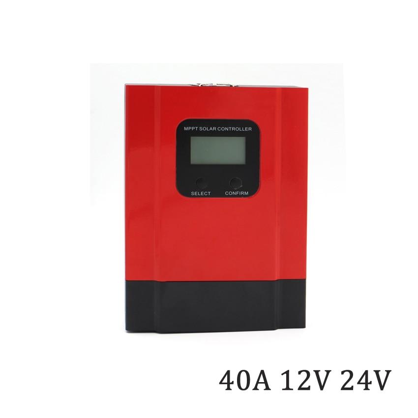 40A LCD affichage MPPT chargeur solaire batterie 12/24/36/48 V seale AGM GEL fer li-ion lithium batterie chargeur de panneau solaire40A LCD affichage MPPT chargeur solaire batterie 12/24/36/48 V seale AGM GEL fer li-ion lithium batterie chargeur de panneau solaire