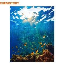 Chenistory подводный мир diy Набор для рисования по номерам