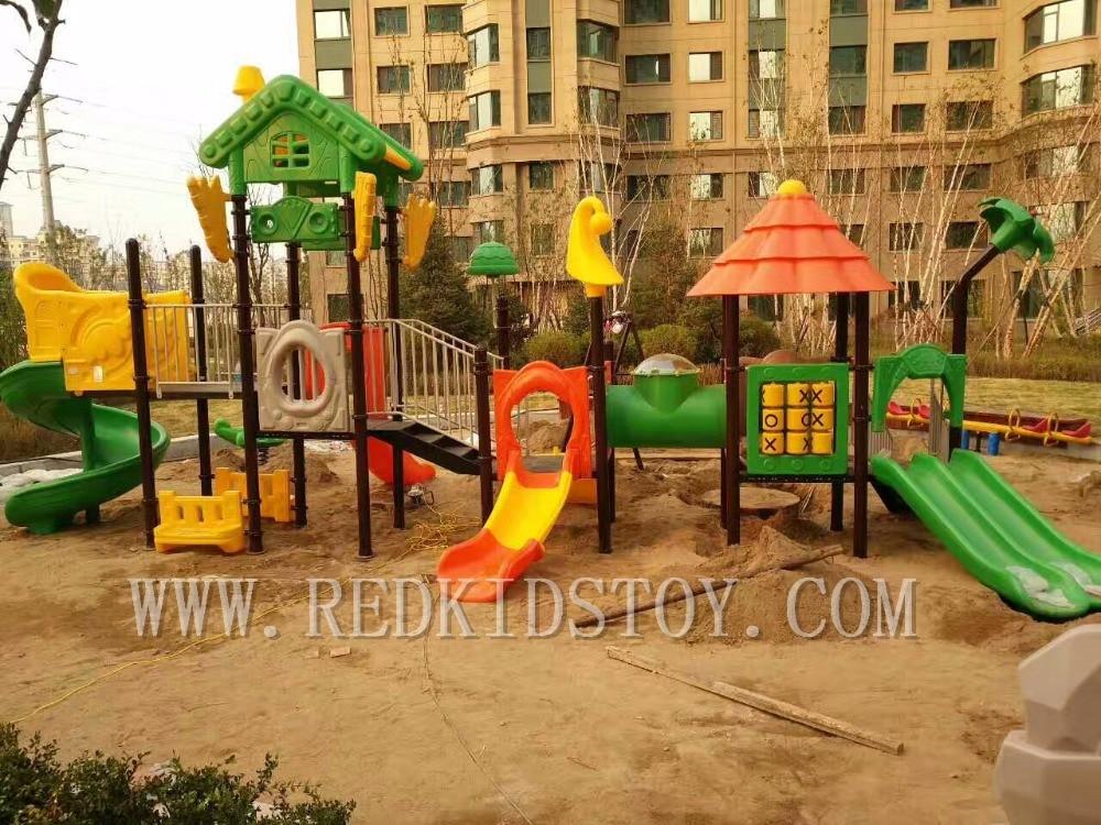 Anti-UV Top Quality Children Outdoor Amusement Park Equipment HZ-7726a