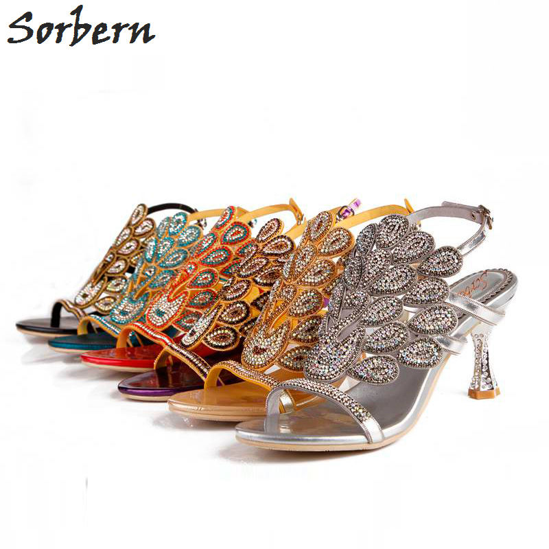 Crystal Sandals Women Shoes 2018 Sexy Party Sandalias Mujer Cheap Modest Buckle Strap Hot Sale Chaussure Femme Bridal Shoes women sandals 2015 women shoes sandalias buckle strap hollow side high thin heels plus size summer style cheap modest