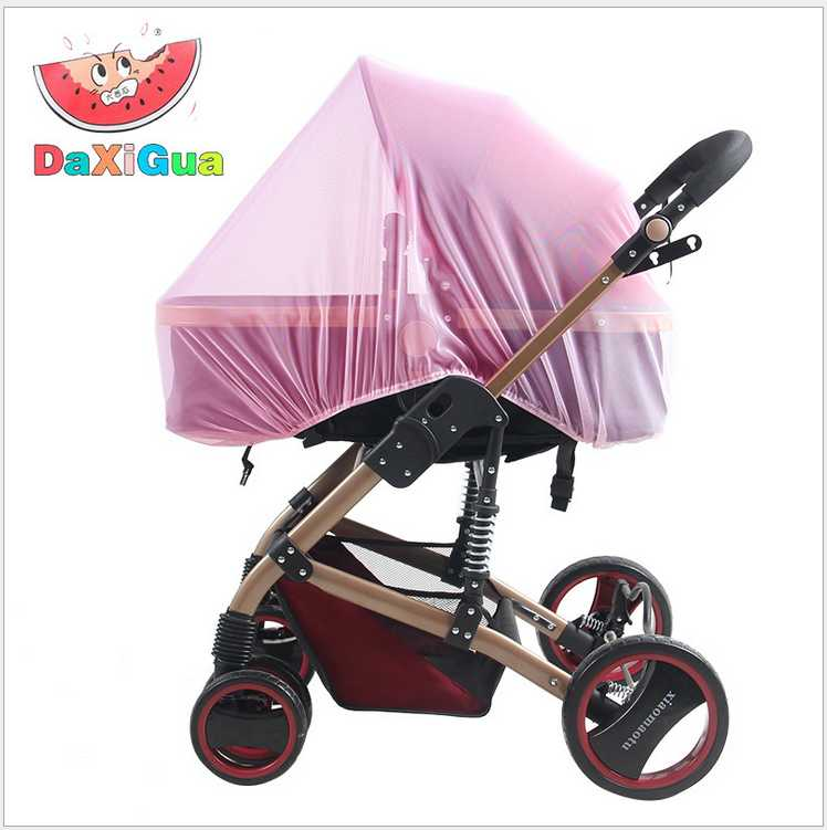 Baby Stroller Pushchair Mosquito Insect Shield Net Safe Infants Protection Mesh Cart Mosquito Net Trq0085