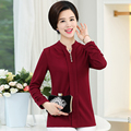 Cor sólida plus size solto gola mulheres chiffon blusa 2017 botão casual 4XL manga longa camisas mulheres encabeça blusas feminino