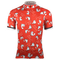 2017 Hot Sale Mens Short Sleeve Cycling Jersey Racing Sportswear Tops Bicycle Cycling Clothing Ropa Ciclismo