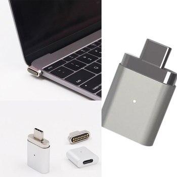 Зарядный разъем типа c для ноутбука, ноутбука, компьютера, быстрой зарядки, конвертер, совместимый с Macbook