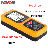 VCHON Laser Infrared Range Finder 100 Meters High Precision Measuring Instrument Laser Electronic Scale Room Equipment