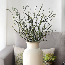 35cm 12pcs Fake Tree Dry Branch Plastic Artificial Plant Decorative Coral For Wedding Office Living Room Decoration