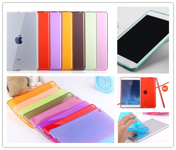 Tablet Accessories Luxury Clear Soft Tpu Silicone Case Cover Skin For Apple Ipad Mini 1 2 3 Retina