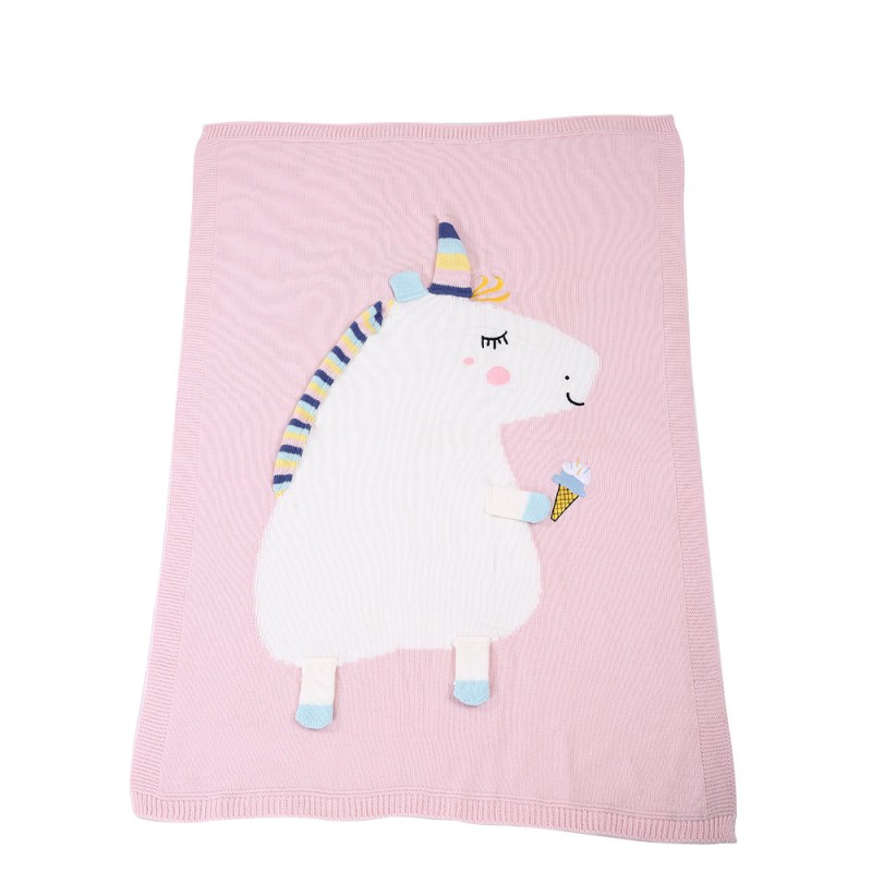 Lovely Baby Blankets Infant Kids Cartoon Soft Warm Knitted  Kids Bath Towel Lovely Newborn Baby Bedding Props Baby Blankets j5