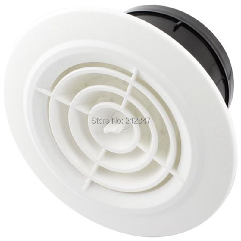 Extractor Fan Round Rotary Adjustable Ventilation Grille