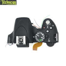 цена на D5100 Top Cover With Flash And Buttons Camera Repair Parts For Nikon