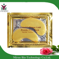 free shipping 50 pairs Golden Pure Essence collagen crystal eye pads, gold collagen eye gel patch,