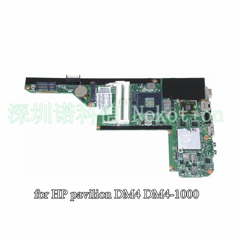 NOKOTION 621044-001 for HP pavilion DM4 DM4-1000 motherboard HD5470M 512M 6050A2371701 MB-A01 warranty 60 days 633863 001 for hp dm4 dm4 1160us dm4 1201tu dm4 1280la hm55 motherboard tested